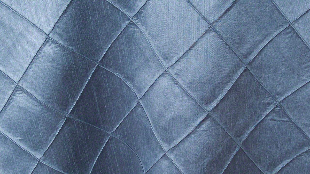 Slate Faux Silk Pintuck Dinner Napkin (10 Pack)