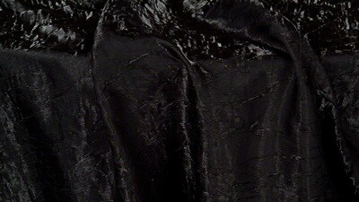 Black Iridescent Crush Dinner Napkin (10 Pack)