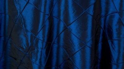 Royal Blue Pintuck Dinner Napkin (10 Pack)