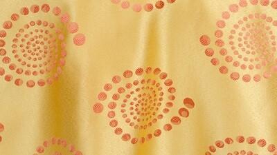Orange/Yellow Crop Circles Dinner Napkin (10 Pack)