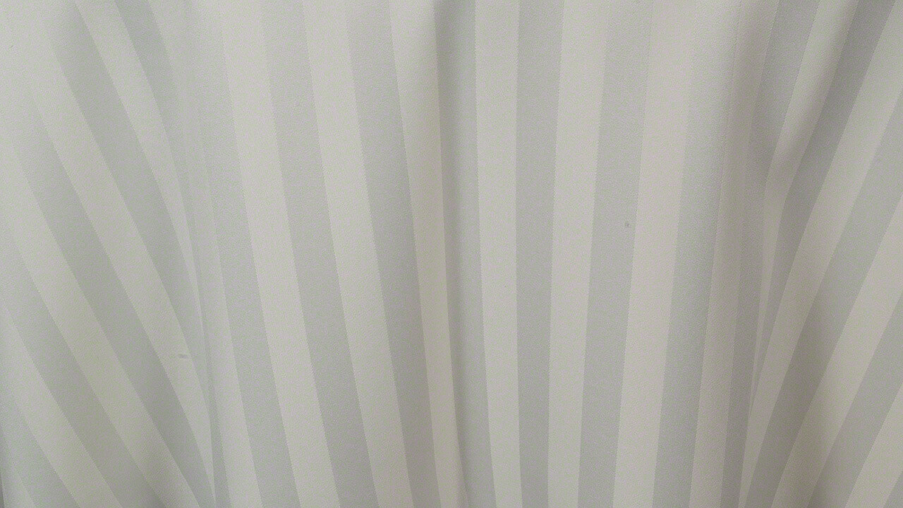Ivory Satin Stripe Dinner Napkin (10 Pack)