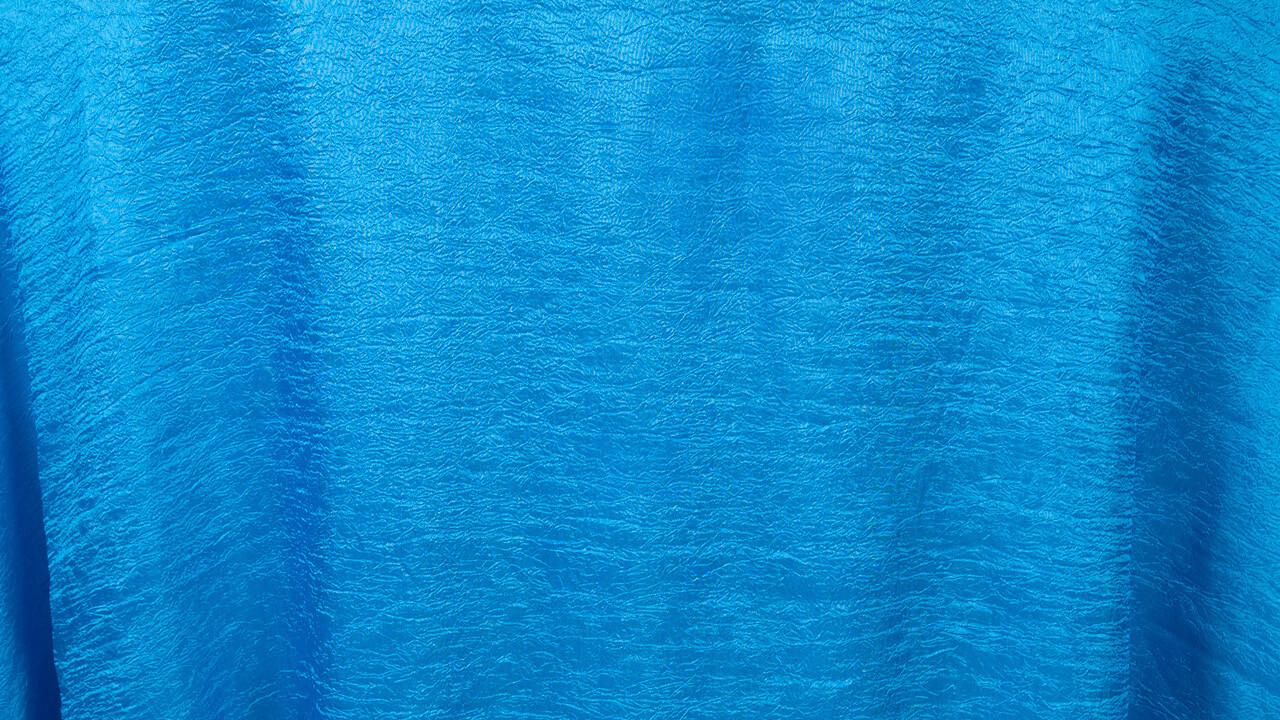 Ocean Blue Crushed Tergalet Sash 11