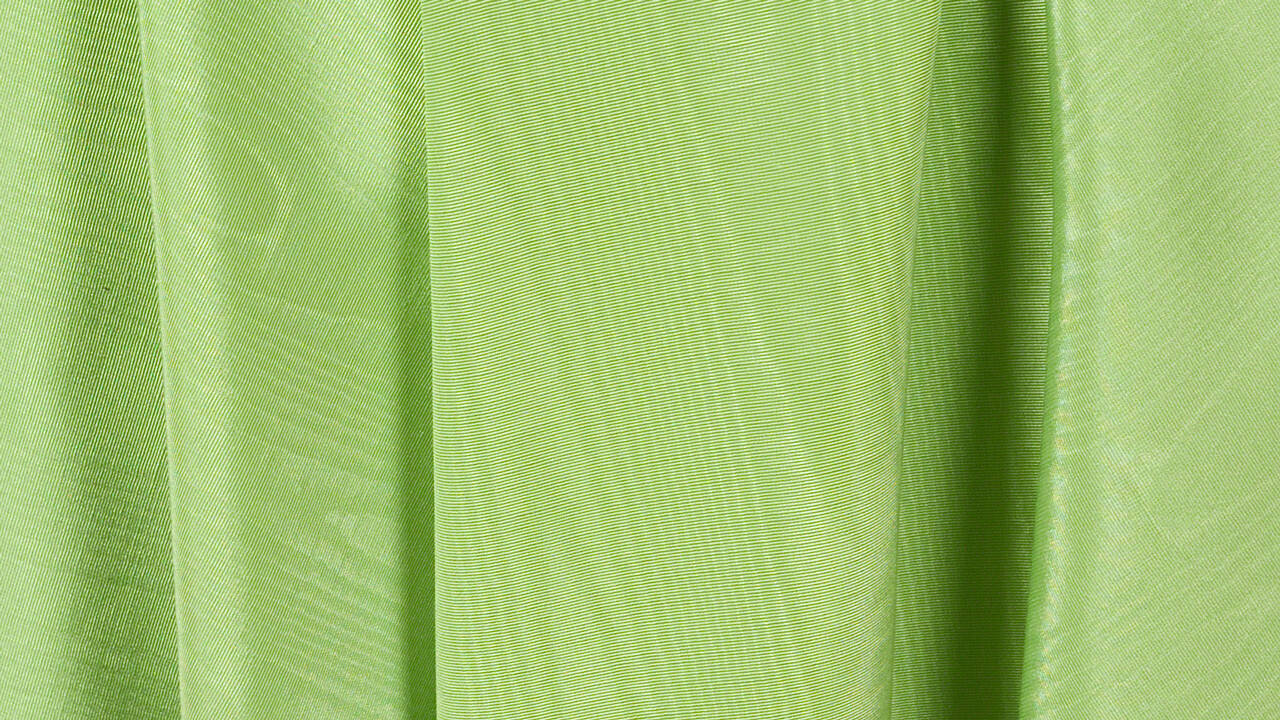 Apple Green Bengaline Moire Sash 8.5