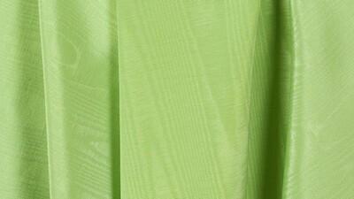 Apple Green Bengaline Moire Sash 8.5