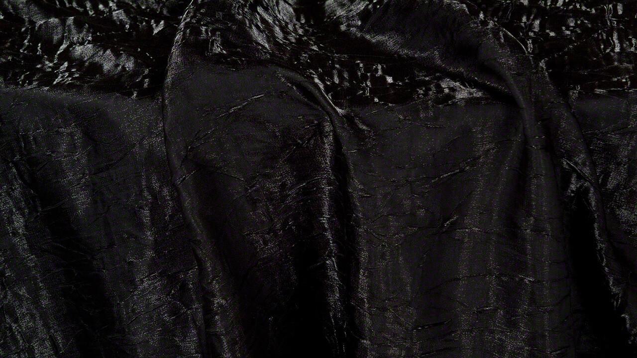 Black Iridescent Crush Sash 7