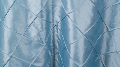 French Blue Pintuck Sash 7