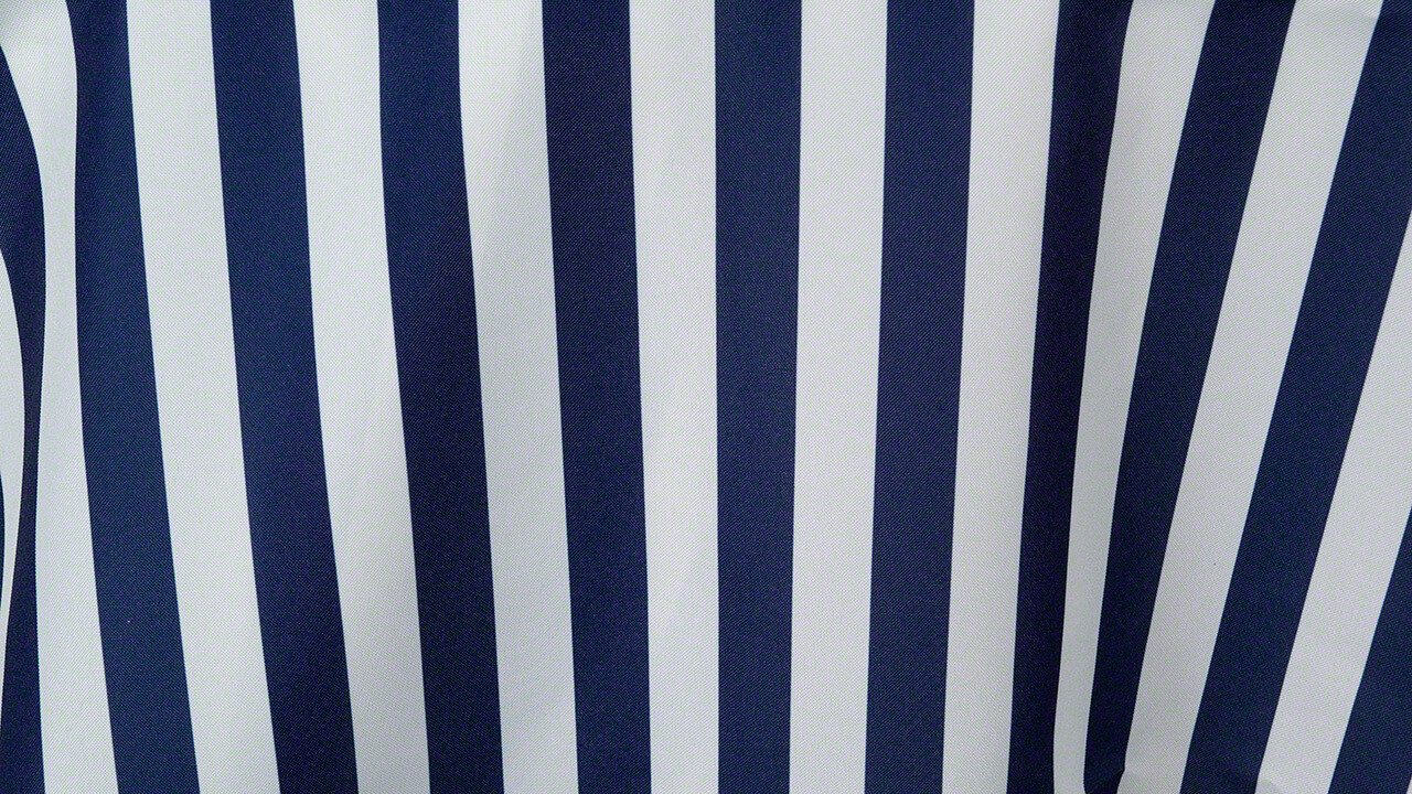 Navy/White Stripe Sash 7