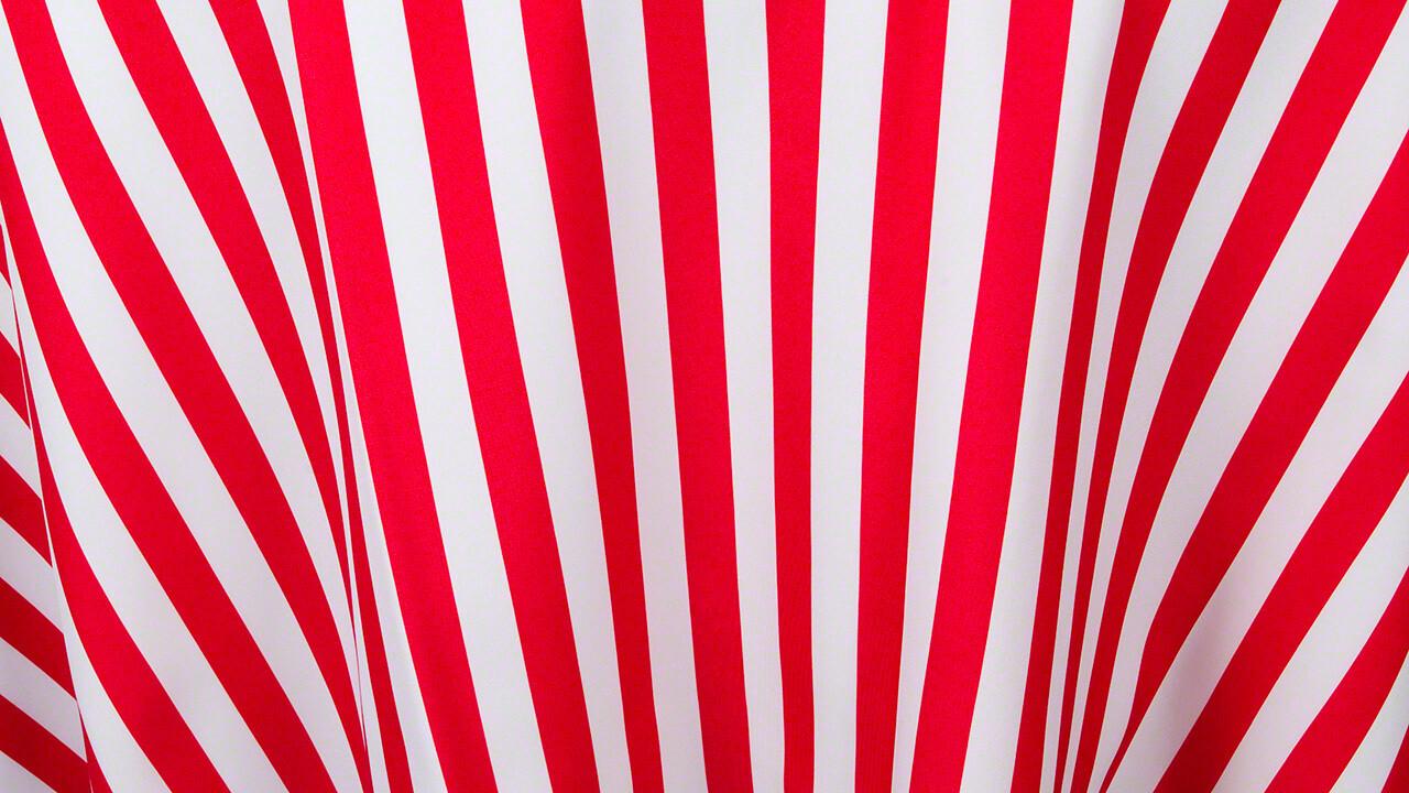 Red/White Stripe Sash 7