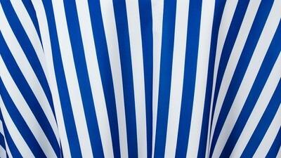 Blue/White Stripe Sash 7