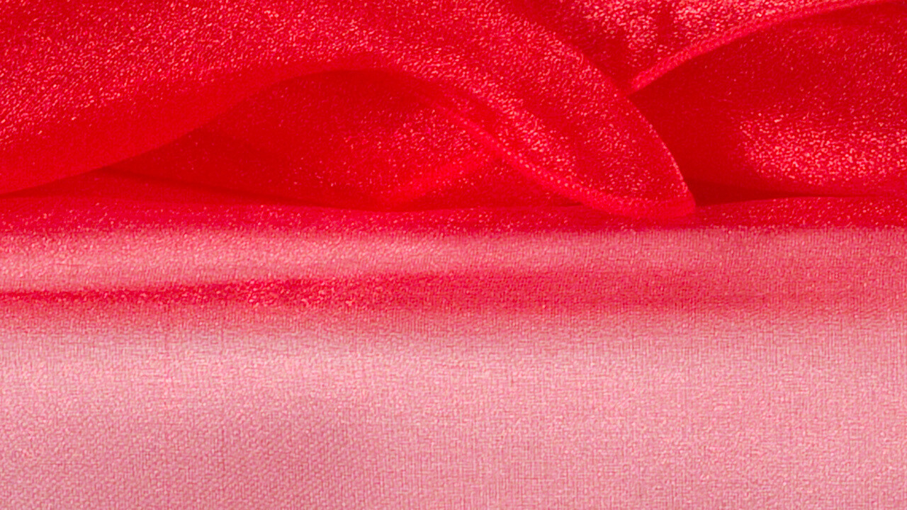 Red Organza Sash 7