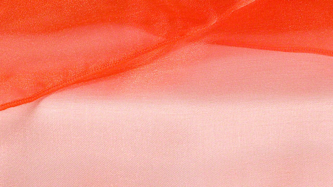 Tiger Lily Organza Sash 12