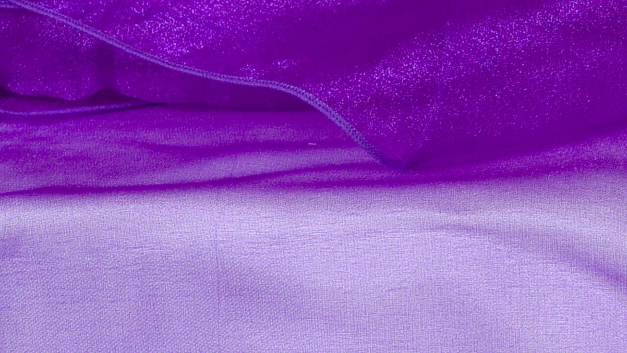 Purple Organza 84
