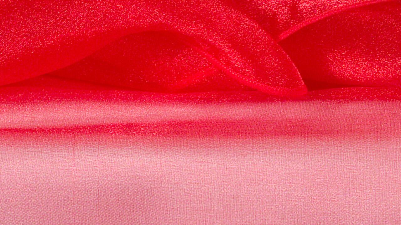 Red Organza 84