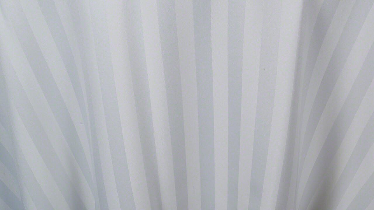 White Satin Stripe 132