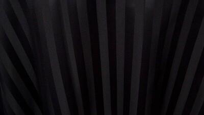 Black Satin Stripe 120