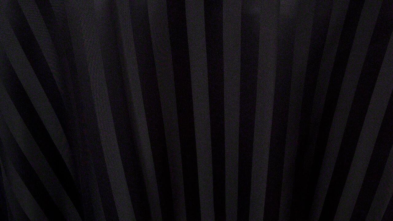 Black Satin Stripe 132