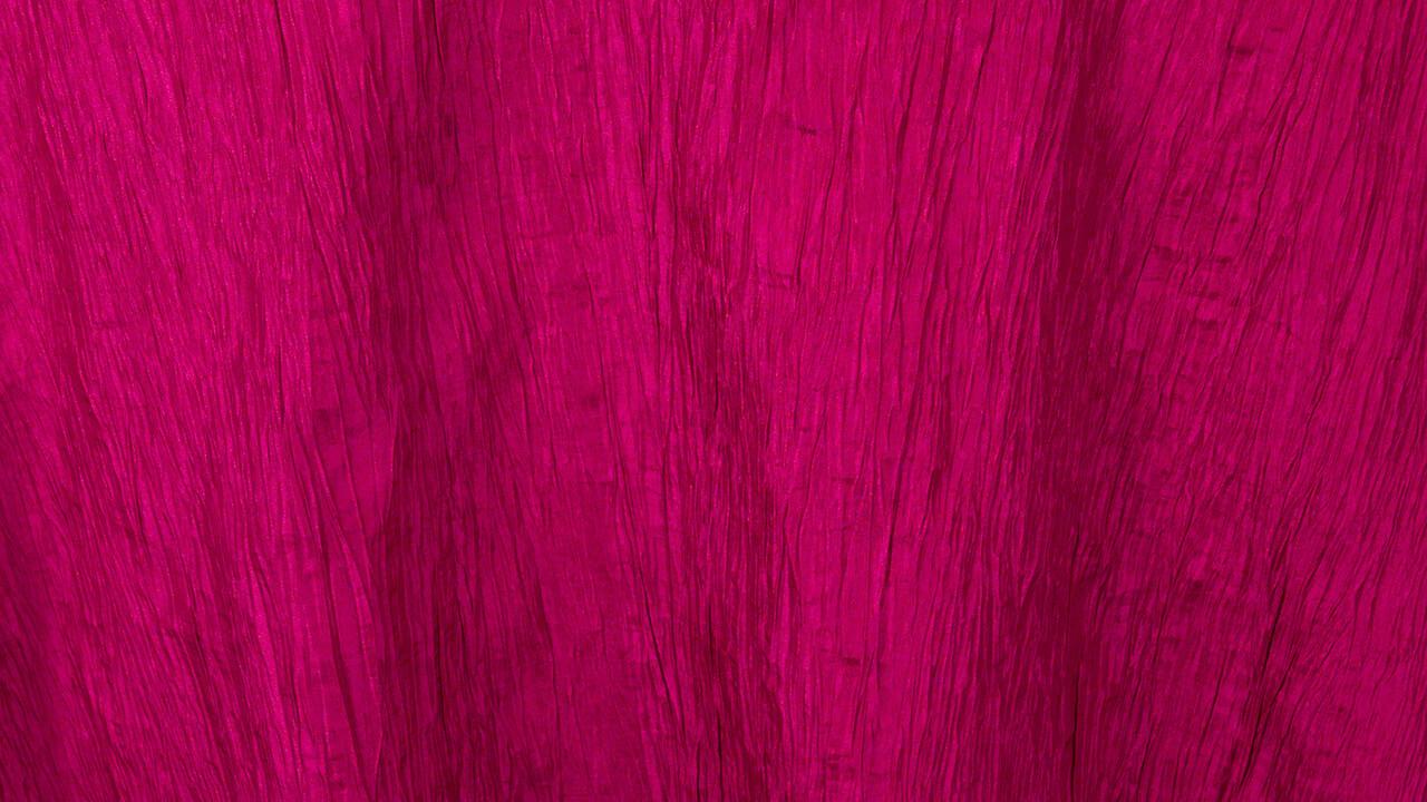 Fuchsia Crinkle Taffeta 120
