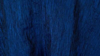 Royal Blue Crinkle Taffeta 90