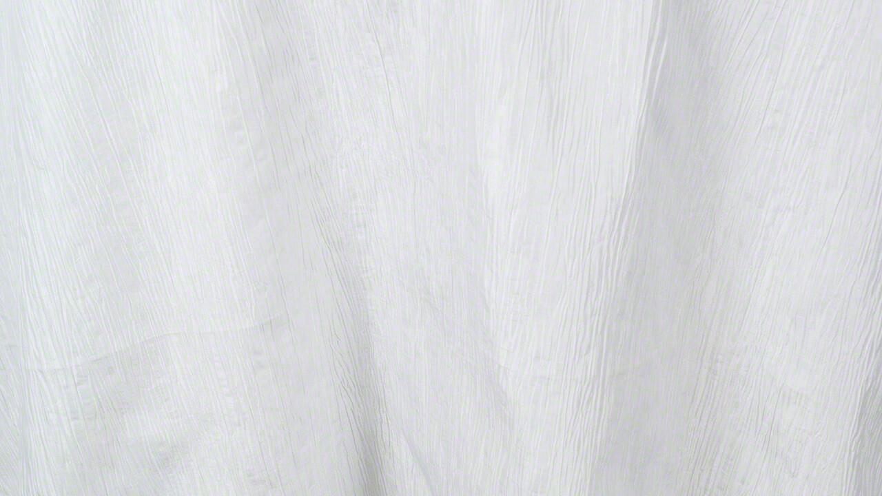 White Crinkle Taffeta 90