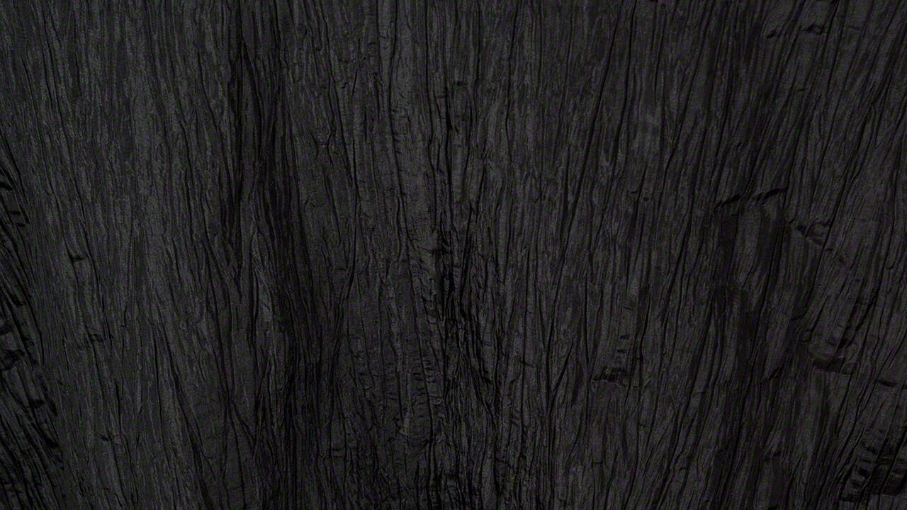 Black Crinkle Taffeta 108