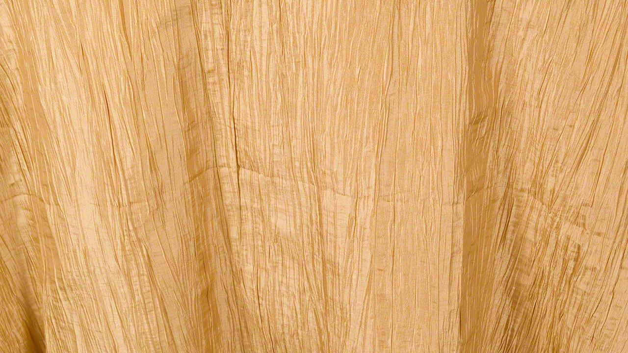 Gold Crinkle Taffeta 108