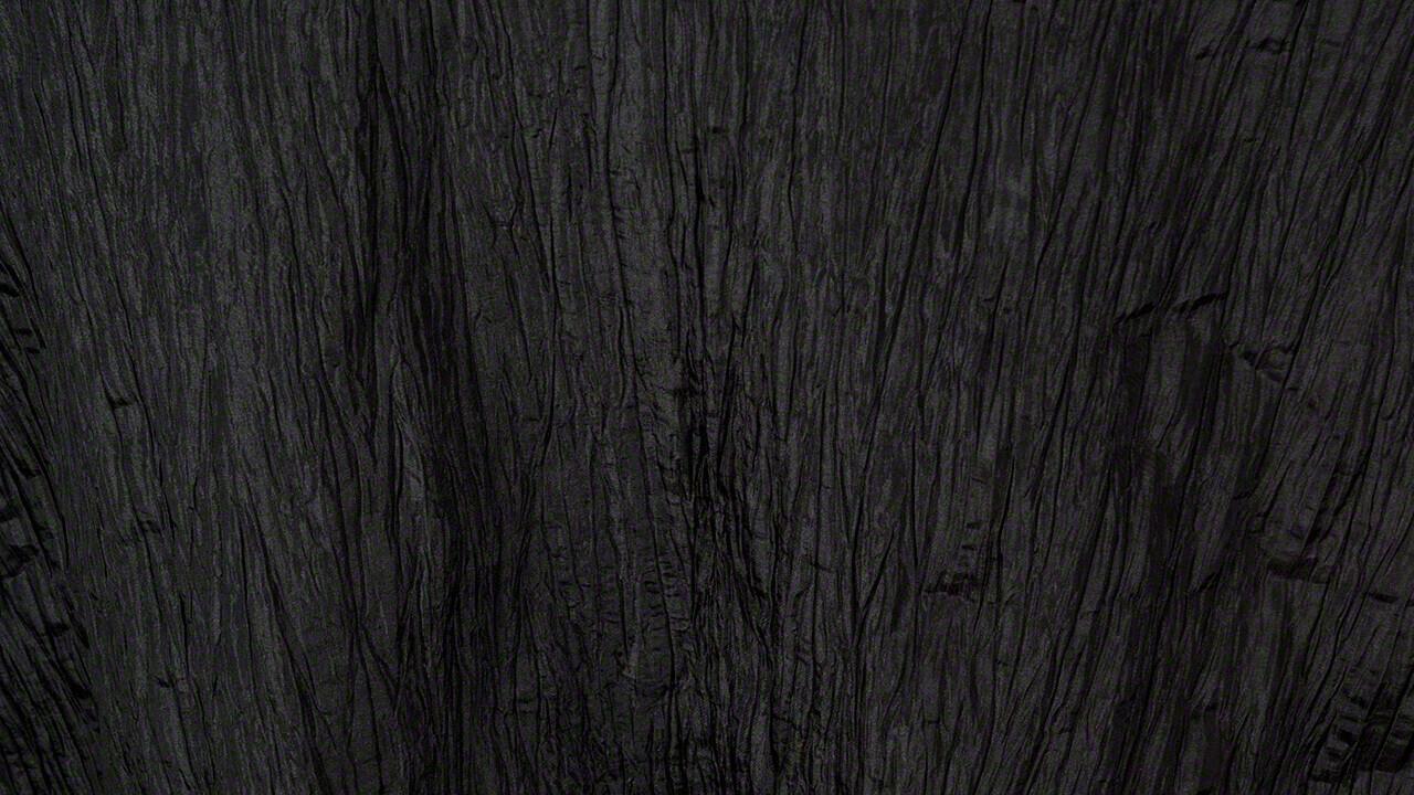 Black Crinkle Taffeta 90