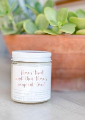 Lavender Vanilla Soy Wax Candle