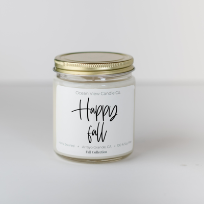 Macintosh Apple Soy Wax Scented Candle