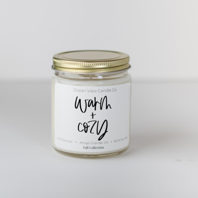 Cinnamon Stick Soy Wax Scented Candle