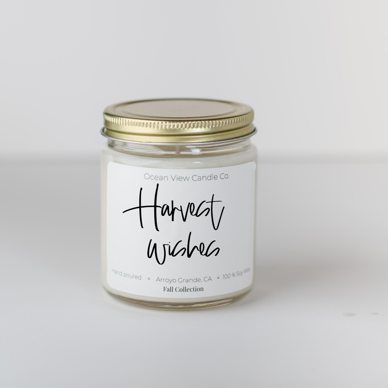 Harvest Orchard Soy Wax Scented Candle