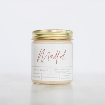 Mediterranean Fig Soy Wax Candle