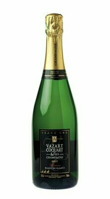 Champagne Brut Reserve Blanc de Blancs (100% Chardonnay) Vazart Coquart