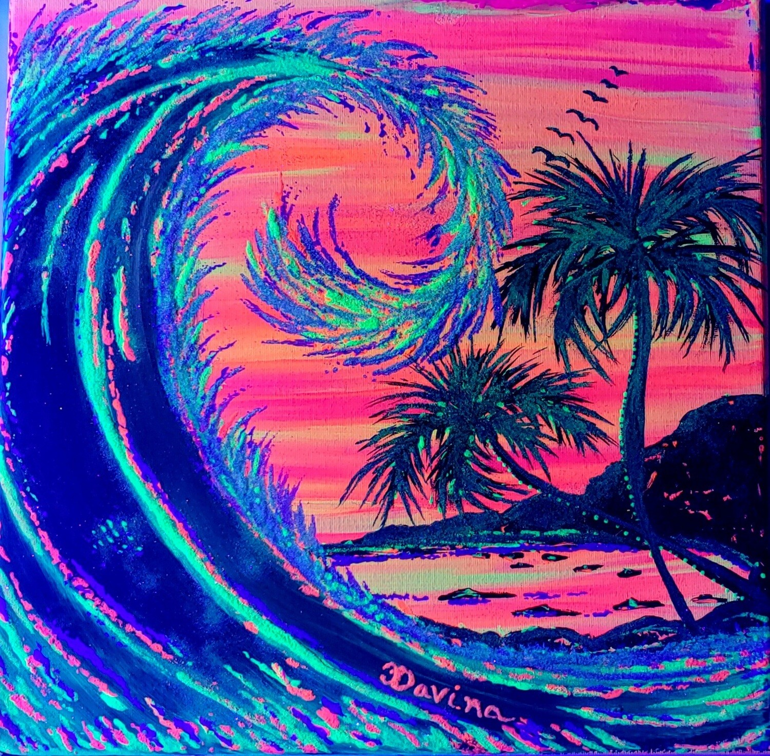 """Glow in the Dark """"Wave of Passion"""""""