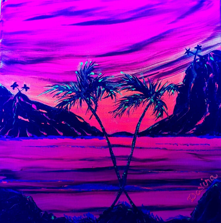 "Glow in the Dark ""Paradise Sunset"""