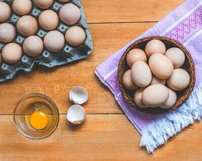 Huevos de campo x 30