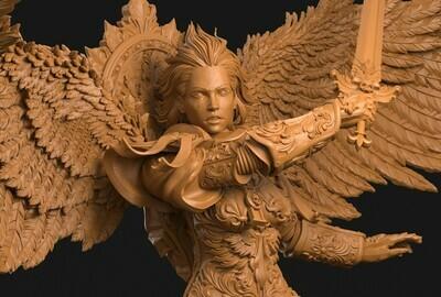 Archangel Miniature 3dArtGuy