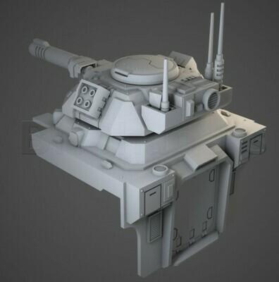 Murmillo Tank Upgrade For Hover Tank - Bitshapers