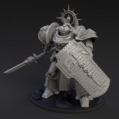 DeamonSlayer-Knight MKII Miniature Multi-Part Kit