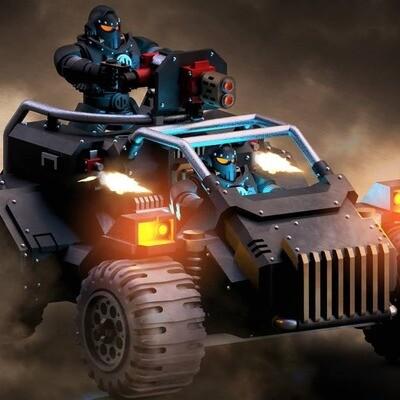 28mm Sci-Fi ATV - Dark Age Designs