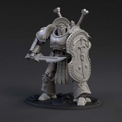 DeamonSlayer-Spartan Printed Miniature Complete Kit