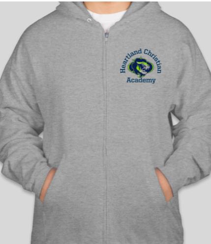 K-12 Gray Hoodie
