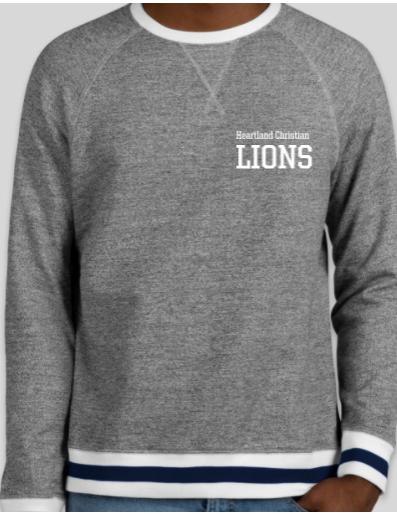 Varsity Crew Neck Sweatshirt