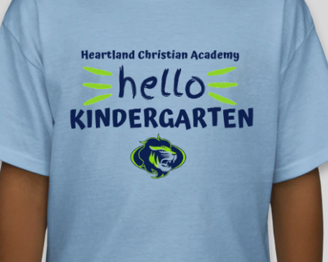 Kindergarten Shirt 2020-21