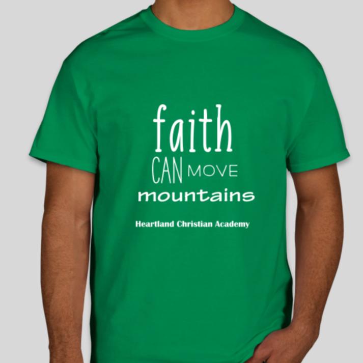 Faith Can Move Mountains House Shirts