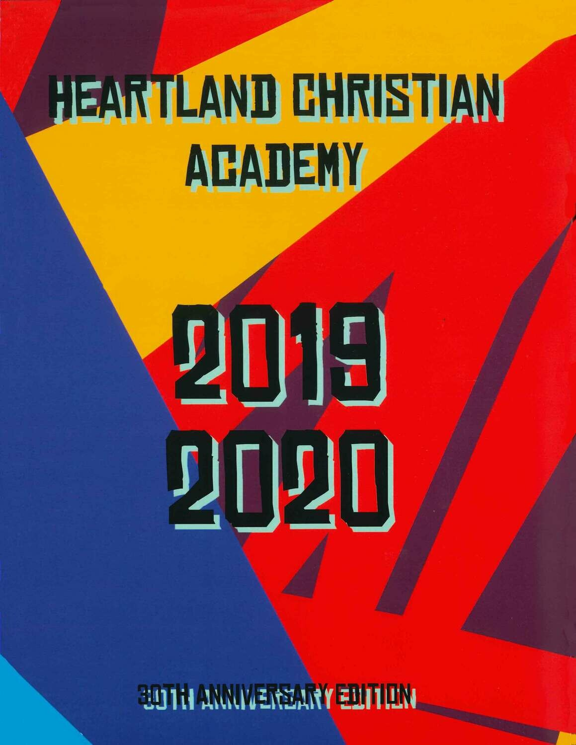 2019-2020  Secondary Year Book- on sale now!