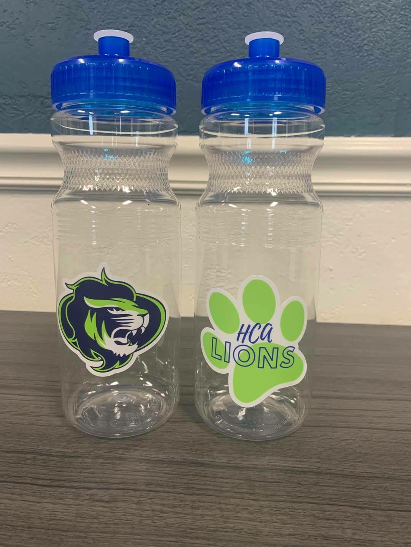 HCA Water Bottle- 2 designs