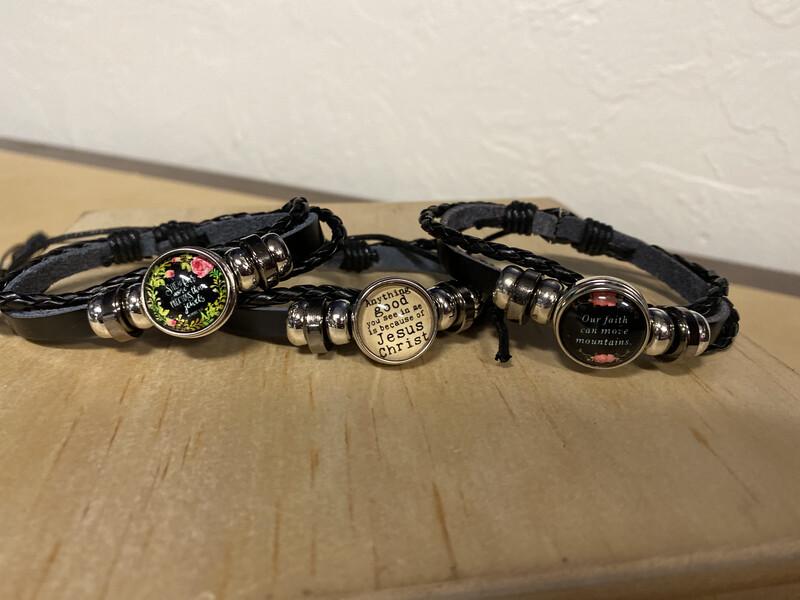 Gold Snap Charm Bracelet- Anything Good