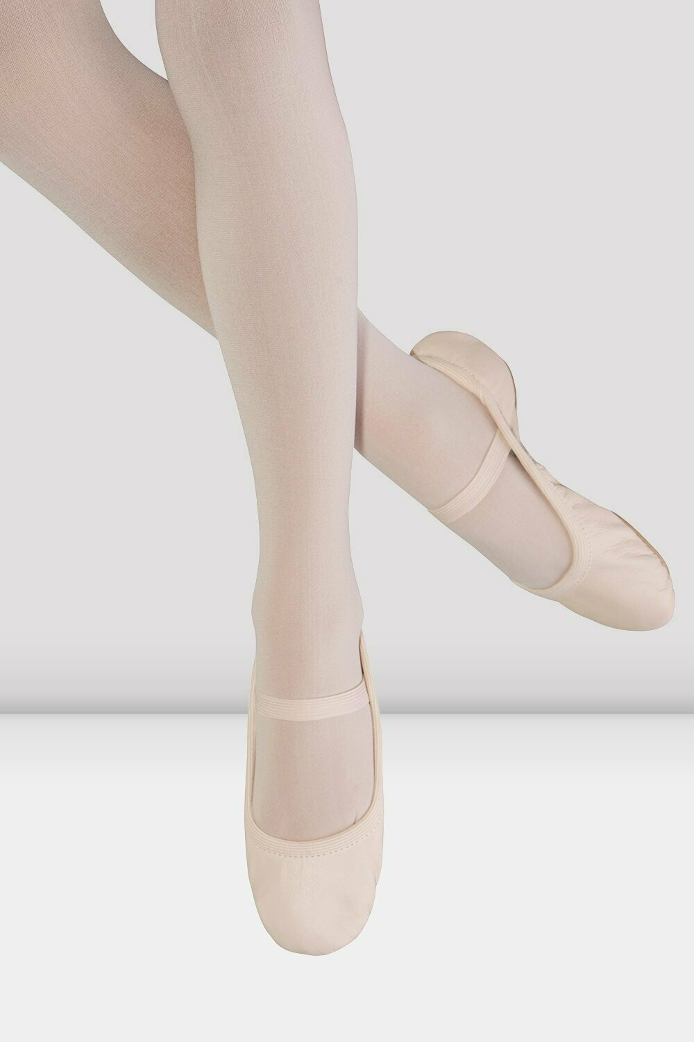 BL S0249L GISELLE LEATHER FULL SOLE BALLET SHOE