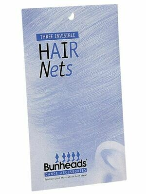CP BH425 BUNHEADS HAIR NETS AUB - 3PK