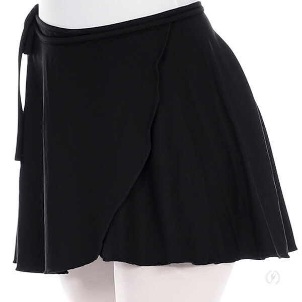EUR 44362P MICROFIBER WRAP SKIRT - PLUS